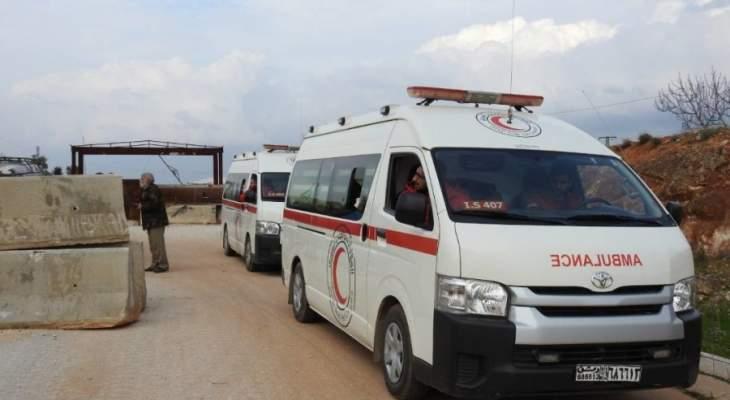 الهلال الأحمر السوري يعلن جهوزيته التامة للدخول إلى مدينة إدلب