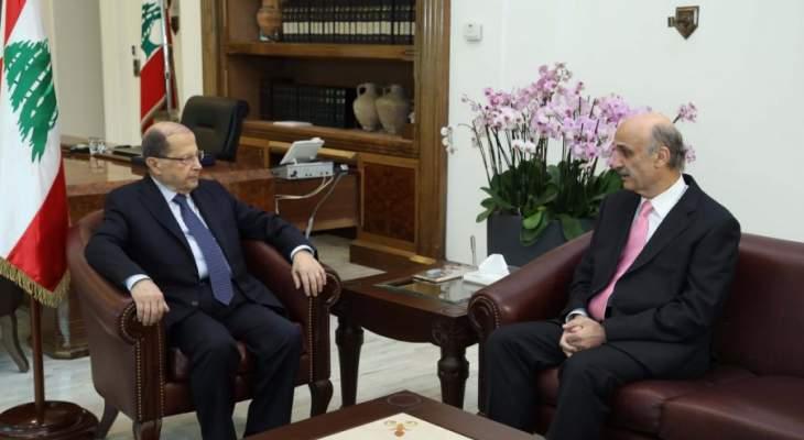 جعجع يتحرك على خط السراي-بعبدا: المصلحة القواتية بالبقاء في جنّة الحكم
