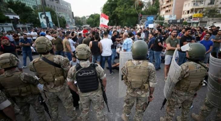 النشرة: فوج التدخل السريع في الجيش اللبناني والقوى الأمنية الأخرى بدأت التحضير لفتح الطرقات