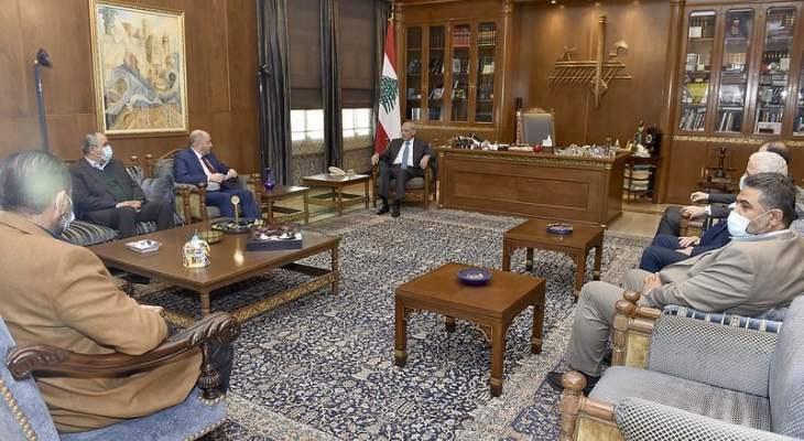 الاسمر: سنحضر دراسة مفصلة حول مطالبنا التي تهم الشعب اللبناني في هذه المرحلة القاسية