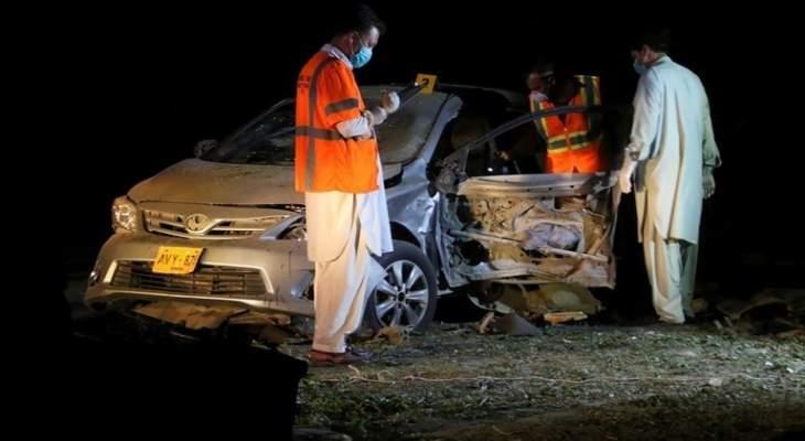 تفجير عبوة ناسفة في باكستان توقع 4 قتلى من الشرطة وتصيب آخرين