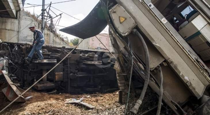 العربية: انقلاب قطار في القليوبية بمصر بعد خروجه عن مساره وأنباء عن سقوط ضحايا