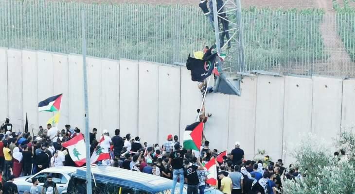 الميادين: مسيّرة إسرائيلية أطلقت الغاز المسيل للدموع على المتظاهرين بالعديسة