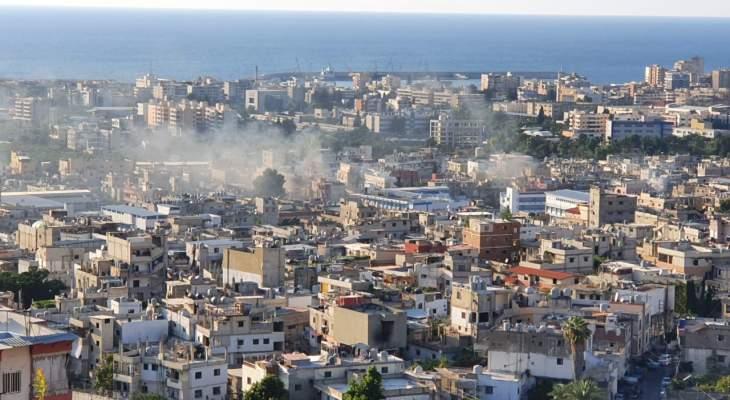 """النشرة: جريحان باشتباكات مخيم عين الحلوة بين """"فتح"""" و""""جند الشام"""""""