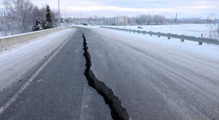 زلزال بقوة 5.7 درجات على مقياس ريختر يضرب محافظة أذربيجان الغربية