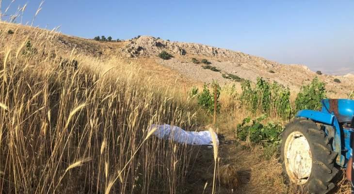 النشرة: العثور على جثة مواطن في تويتي بزحلة