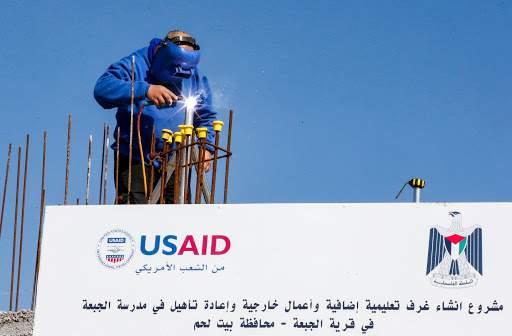 """""""USAID"""" تستأنف عملها في فلسطين بعد توقف 3 سنوات"""