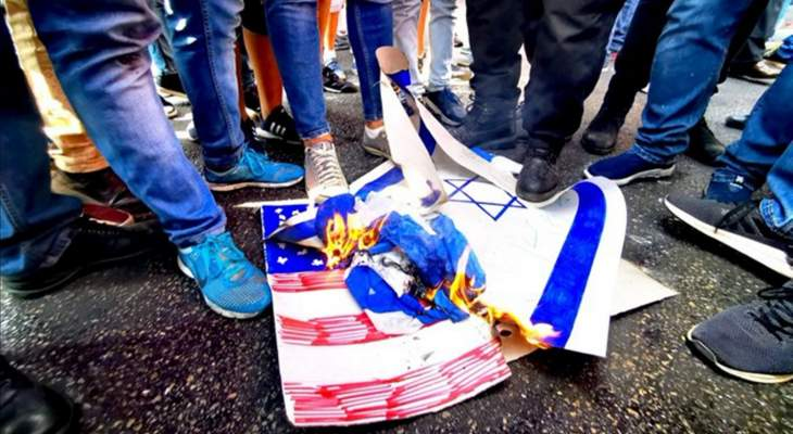 النشرة: اشكال في النبطية بعد دخول احمد العملاء السابقين مع المتظاهرين وتم طرده