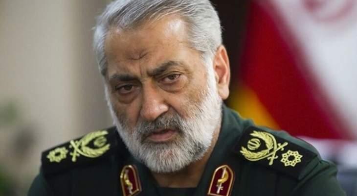 القوات المسلحة الإيرانية: أمن المناطق الحدودیة والشعب الإیراني هو خط أحمر
