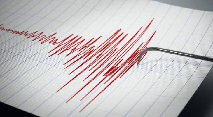 زلزال بقوة 4.1 درجة ضرب سواحل ولاية موغلا جنوب غربي تركيا