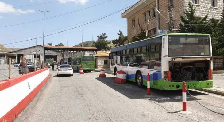 دفعة جديدة من النازحين السوريين غادرت طرابلس عائدة إلى بلادها
