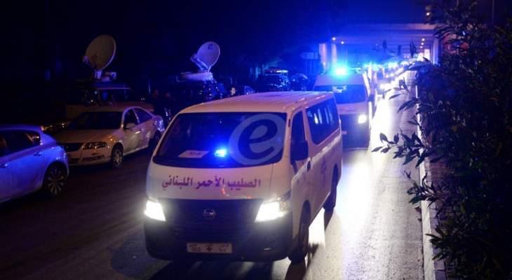النشرة: 3 جرحى نتيجة حادث سير على طريق رياق