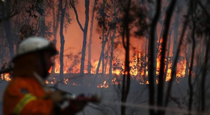 أكثر من 100 حريق يلتهم مئات آلاف الهكتارات في أستراليا بسبب موجة حر