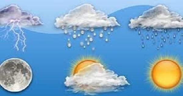 منخفض جوي حتى نهاية الاسبوع والطقس غدا ماطر بغزارة