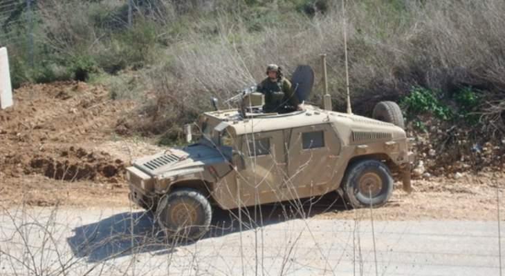 النشرة: دورية للجيش الاسرائيلي أطلقت النار في اتجاه مزارعين لبنانيين في بليدا