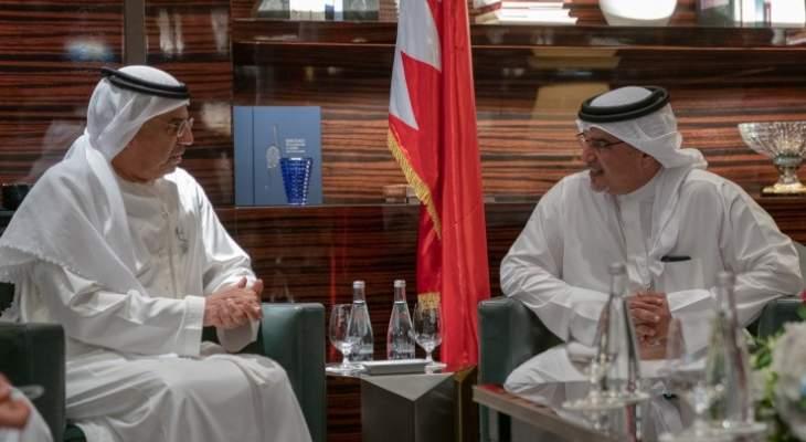 ولي عهد البحرين أكد على تميز العلاقات البحرينية- الإماراتية على جميع الصعد