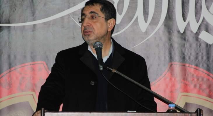 الحاج حسن للقوى الأمنية: لوضع حد لظاهرة إطلاق النار شبه اليومي ببعلبك والهرمل