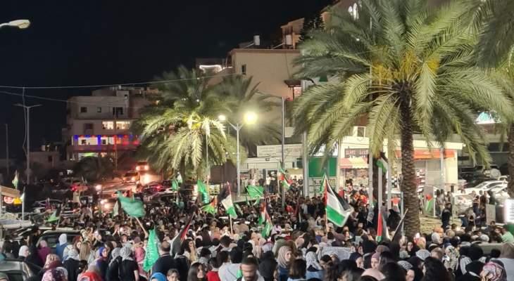 مواجهات عنيفة بين القوات الإسرائيلية والفلسطينيين في أم الفحم بالضفة