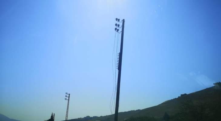 قطع أسلاك شبكة الكهرباء في المعنية بإقليم الخروب وفشل محاولة سرقتها
