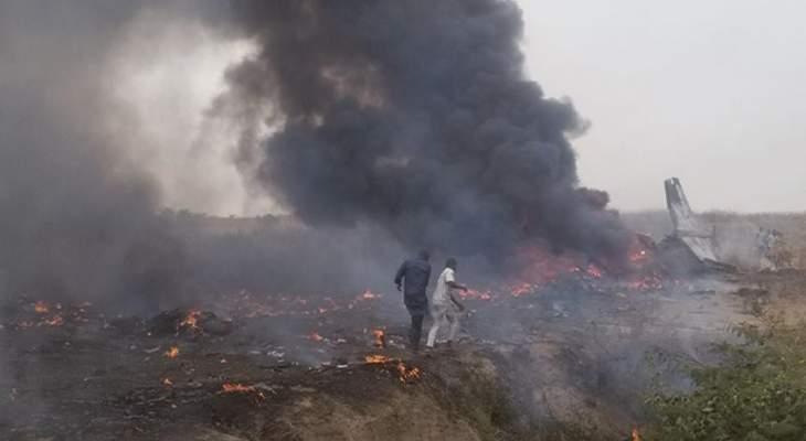 تحطم طائرة تابعة لسلاح الجو النيجيري بعد تعطل محركها ومقتل 7 أفراد على متنها