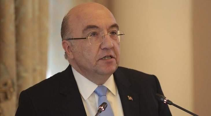السفير التركي بموسكو أمل باستئناف الرحلات الجوية بين تركيا وروسيا بتموز