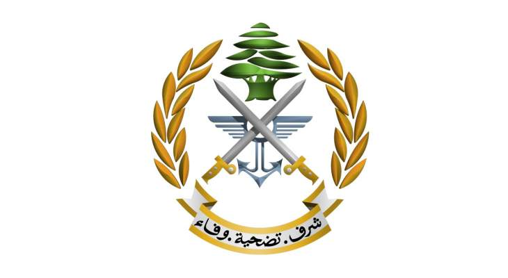 الجيش: مدرسة القوات الخاصة نفذت مناورة قتالية ليلا في حقل رماية حنوش- حامات