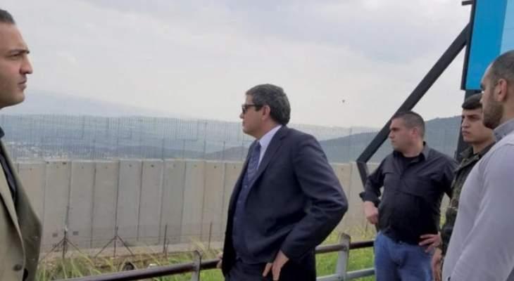 مصدر عسكري للشرق الأوسط: الجدار الإسمنتي الحدودي لا يلغي خطر دخول إسرائيلي بريا للبنان