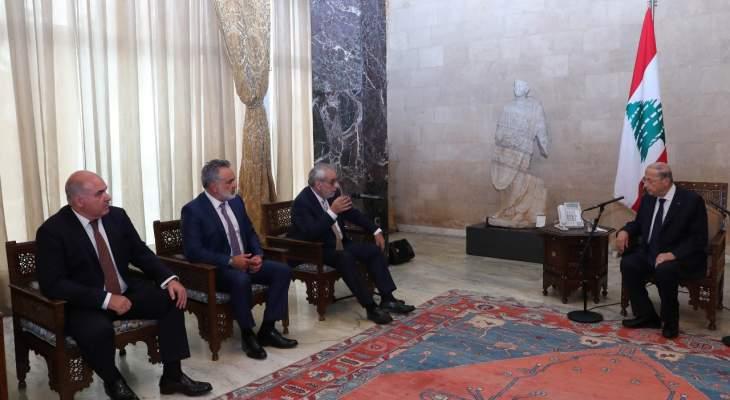 """كتلة """"نواب الأرمن"""" من بعبدا: قررنا عدم تسمية أي شخصية لرئاسة الحكومة"""