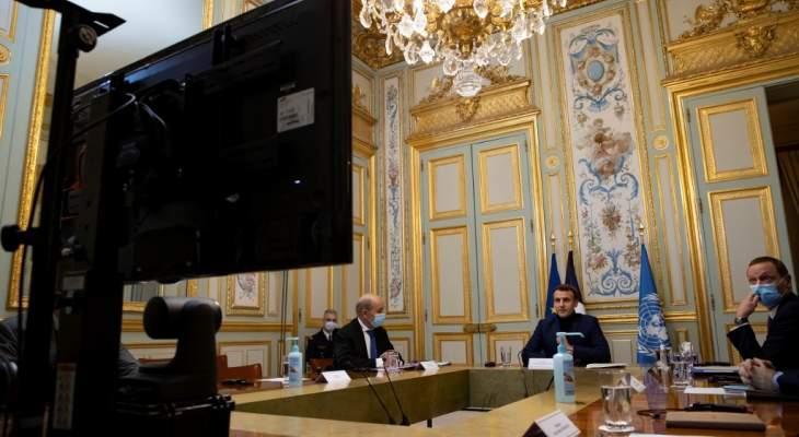 بدء المؤتمر الدولي الثاني لدعم بيروت والشعب اللبناني في باريس
