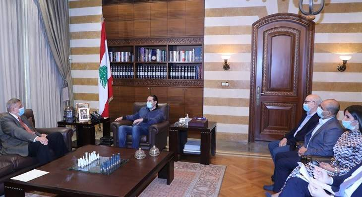 الحريري عرض مع كوبيتش الاوضاع واستقبل النائب سليمان ويموت