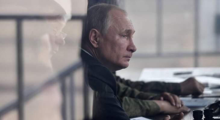 بوتين يحذر من موجة كورونا ثانية في روسيا خلال شهري تشرين المقبل