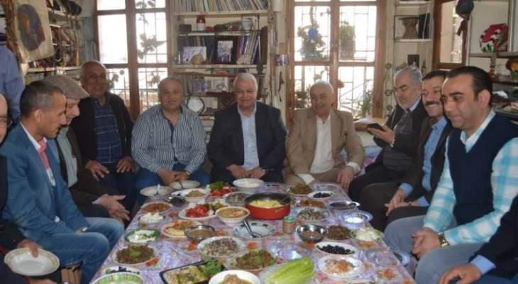 قمر الدين من سوق طرابلس: متفائل بقدوم ايام مريحة للطرابلسين عبر جملة مشاريع تنموية