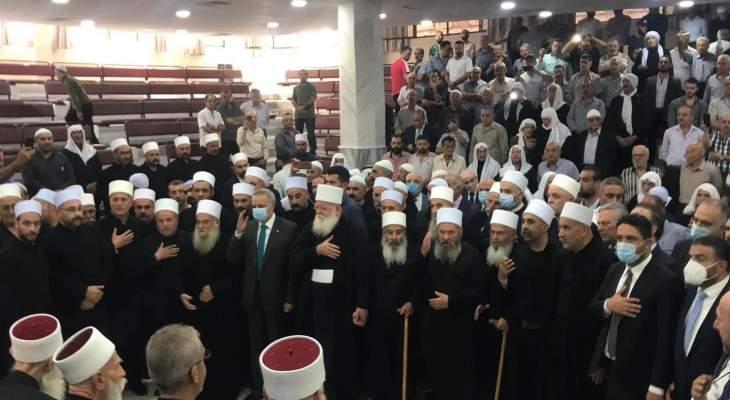 أرسلان زار جرمانا: هذه الزيارة تؤكد وحدة لبنان وسوريا والتماسك والعلاقة الوطيدة بين البلدين