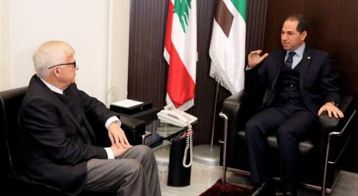 سامي الجميل التقى زاسبكين: لرئيس حكومة مستقل وحكومة اختصاصيي