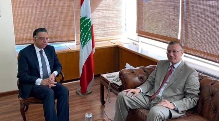 درويش التقى الوزير قطار وبحث معه أزمة مكب النفايات في طرابلس