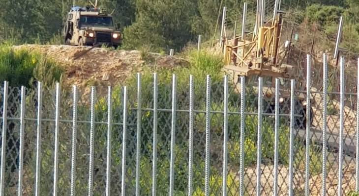 النشرة: قوة إسرائيلية تفقدت الطريق العسكري ما بين تلال العديسة ومستعمرة المطلة