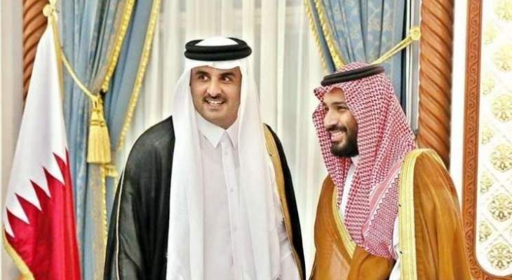 أمير قطر أكد لولي العهد السعودي دعم السعودية وكل ما من شأنه تعزيز أمنها واستقرارها