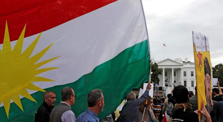 تجمع أمام البيت الأبيض يتهم ترامب بالتخلي عن الأكراد