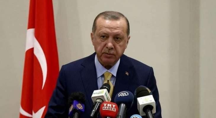 العربية: أردوغان يترأس اجتماعا أمنيا طارئا بشأن تطورات إدلب