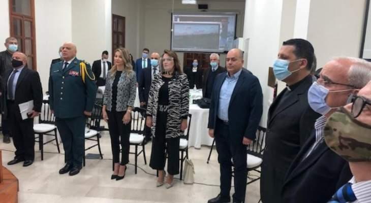 ممثل قائد الجيش: حقوق اللبنانيين بمواردهم الطبيعية على رأس الأولويات التي لا يمكن التفريط بها مهما غلت التضحيات