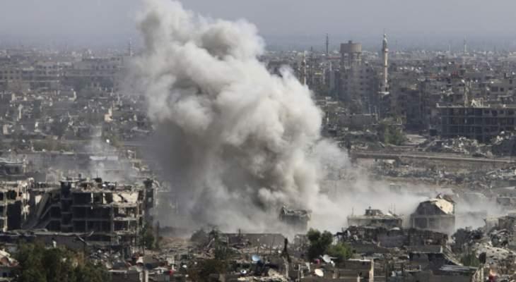 مقتل 12 شخصاً واصابة 25 آخرين بتفجير سيارة أمام مستشفى بمحافظة إدلب