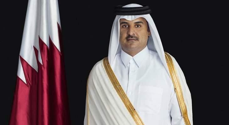 أمير قطر خلال مؤتمر المانحين لمساعدة لبنان: انعقاد المؤتمر يؤكد عزم المجتمع الدولي على المساعدة