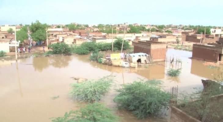 ارتفاع حصيلة ضحايا الأمطار والسيول في السودان الى 62 قتيلا