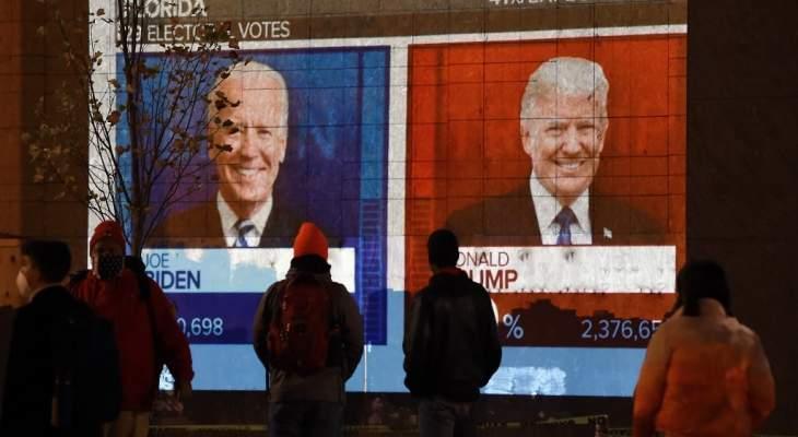 نيويورك تايمز: بايدن متقدم على ترامب بواقع 5 ملايين صوت مع استمرار الفرز