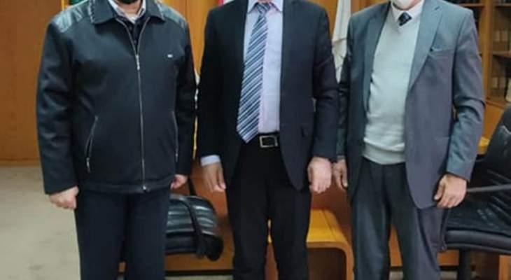 طرابلسي زار المركز التربوي للاطلاع على تطور العمل بواجهات التحديات
