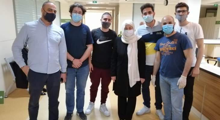 الحريري تفقدت تحضيرات افتتاح حملة تيار المستقبل للتلقيح ضد كورونا في المستشفى التركي