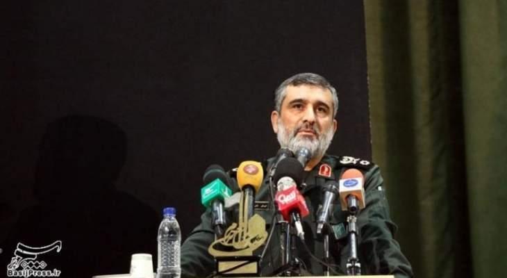 قائد بالحرس الثوري: واشنطن لن تجرؤ على انتهاك الأراضي الإيرانية