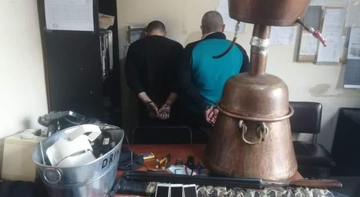 مفرزة استقصاء الشّمال توقف شخصَين بجرم سرقة من منزل بواسطة الكسر والخلع