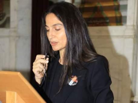 السيدة سكاف تعزي الشيخ يزبك وتزور الاسير المحرر جورج خزافة
