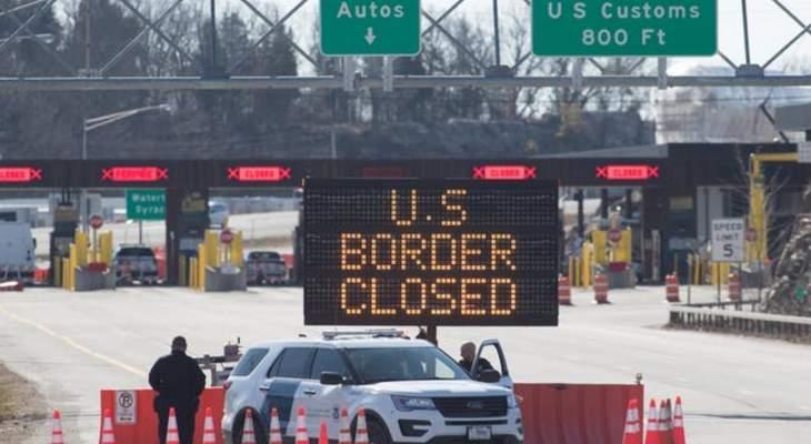 السلطات الأميركية تفتح حدودها البرية مع كندا والمكسيك بعد إغلاق دام 19 شهرا